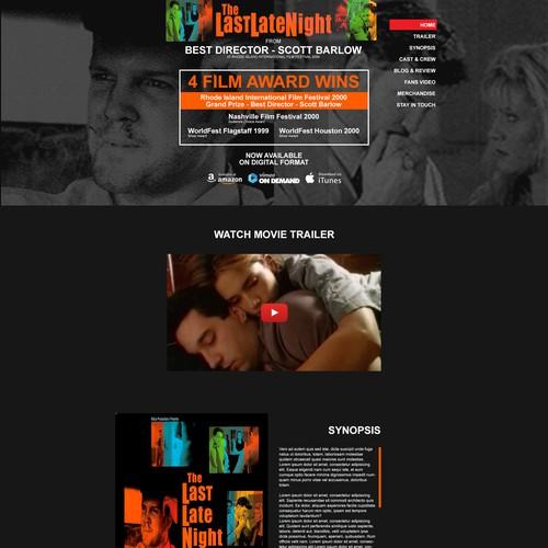 Last Late Night Movie Website