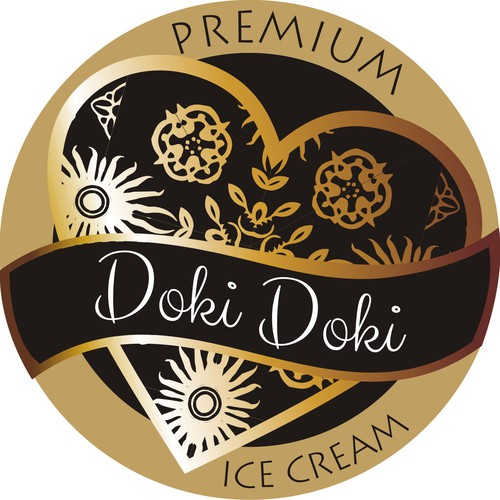 Create a stunning Ice Cream Brand