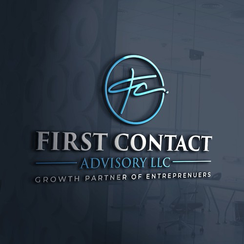 Logo and Brand Identity for First Contact Advisory LLC