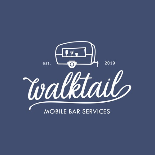 Logo for Walktail Mobile Bar.