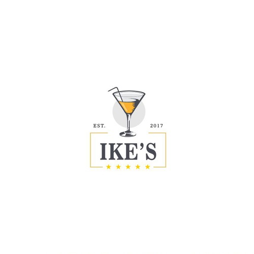"Private Club needs classy logo for Bar & Restaurant ""Ike's"" in reference to President Eisenhower"
