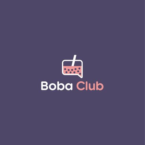 Boba Club Logo