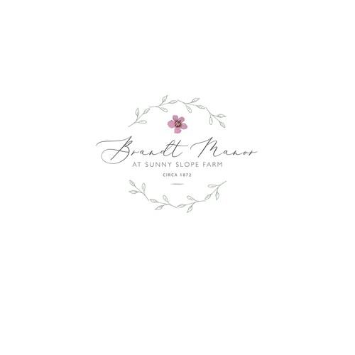 Wedding Barn Venue Logo