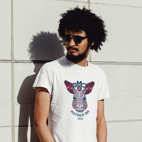 Australia Day t-shirt design