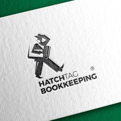 Logo for bookkeeping company