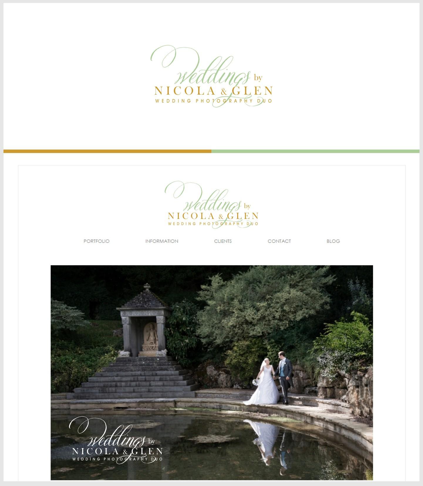 Create a Luxe  Logo for a high end Wedding Photography Studio