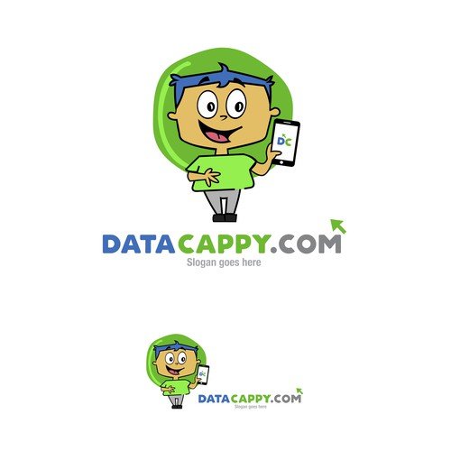 Happy Character for DataCappy.com