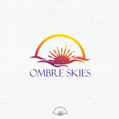 Sunset logo concept