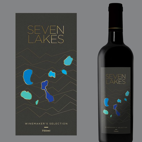 Label for a premium wine brand