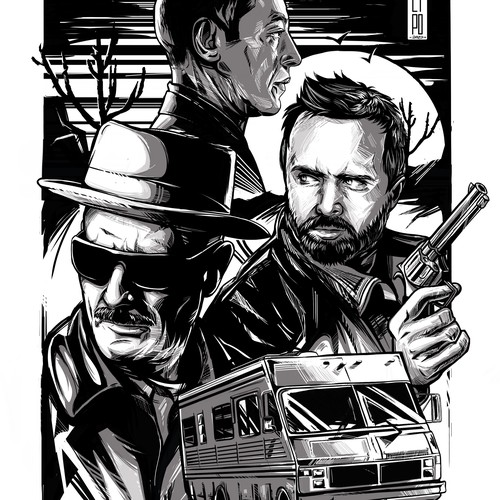 Breaking Bad Movie Poster