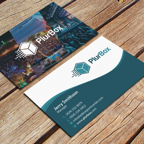 Business Card Design - PlurBox -