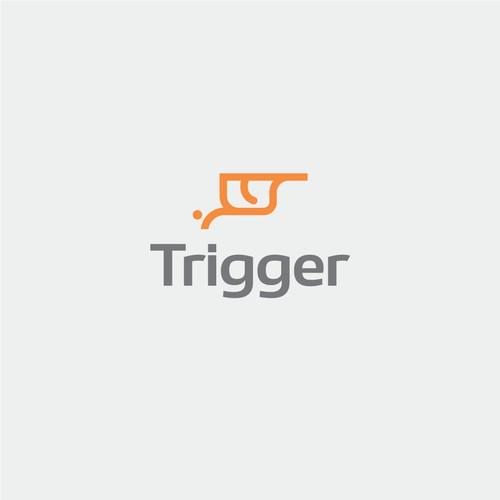 Logo for Trigger, a marketing agency