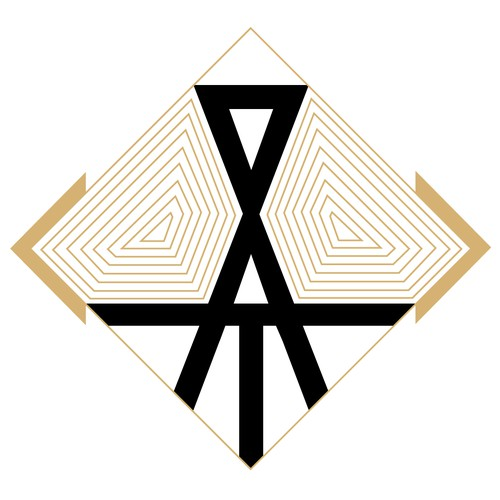 Art Deco Logo for Fashion Label