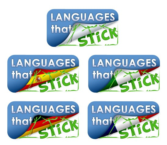logo for Languages That Stick