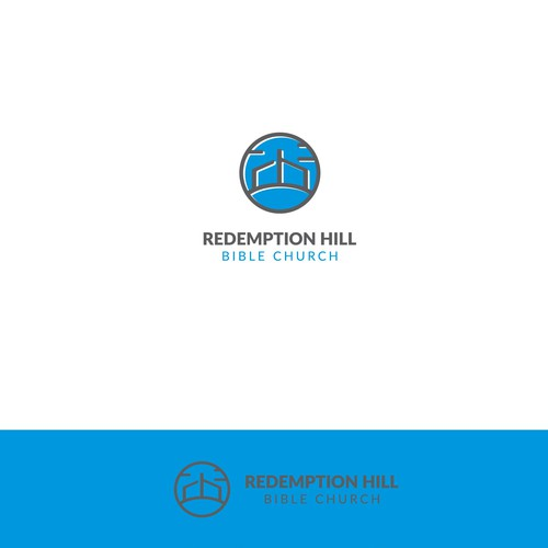 Hipster Logo for Redemption Hill church