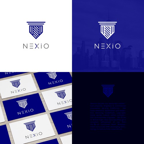 Logo for an intellectual property law firm