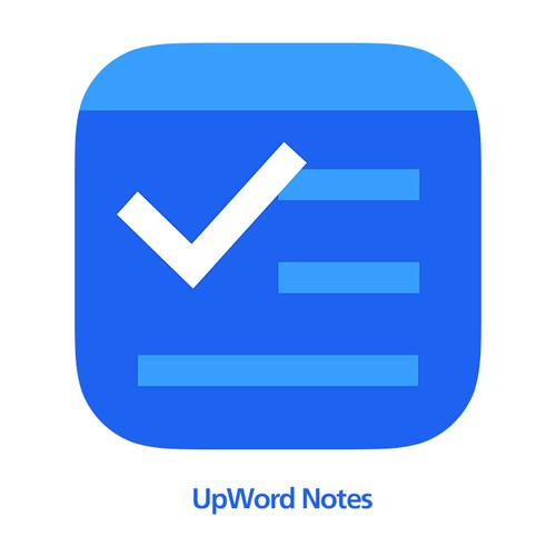 New App Icon for a notes app