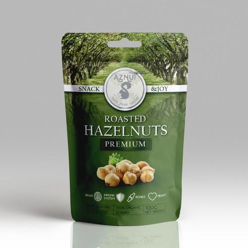 Hazelnuts Premium bag
