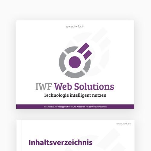 Powerpoint Presentation für Web Company