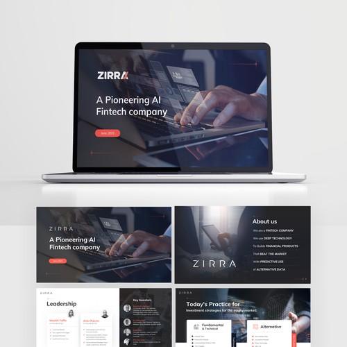 Fintech Company Zirra's Decks