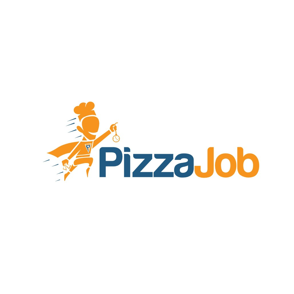 The startup Pizzajob search a big logo!