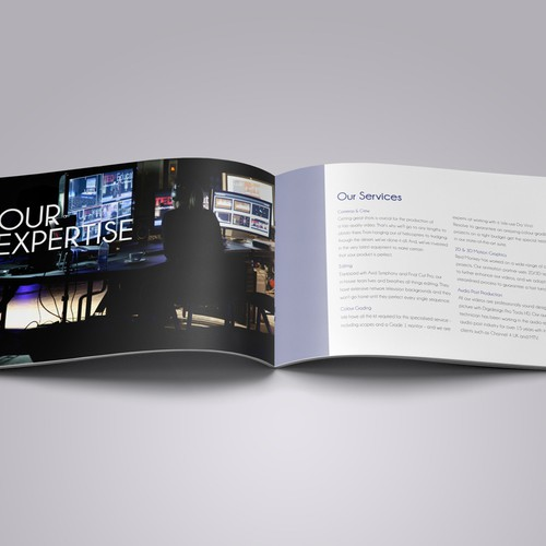 Help Red Monkey with a new brochure design