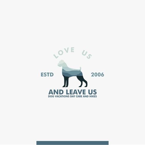 dog logo for LUALU