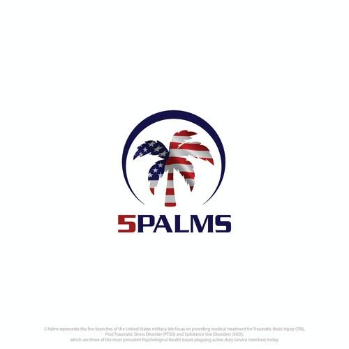 Logo for 5 Palms