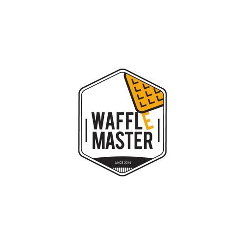 Logo Study for WAFFLE MASTER - study 2