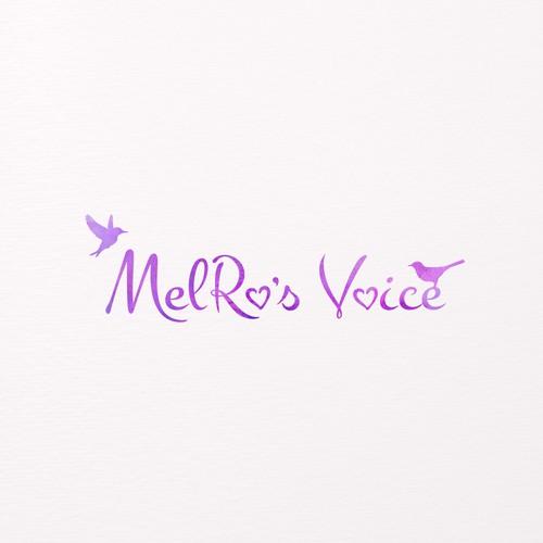 MelRo's Voice Logo