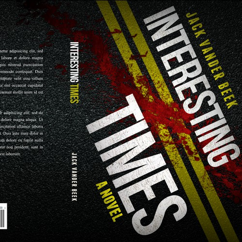 Eye catching Book Cover - Mystery/Adventure, Improbable protagonist battles past and present.