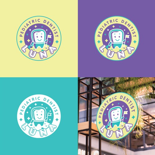 Logo for dentist company