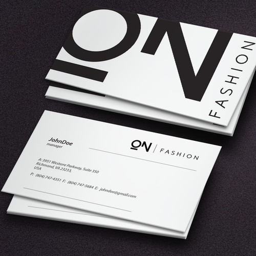Logo and brand identity pack for fashion consulting  agency