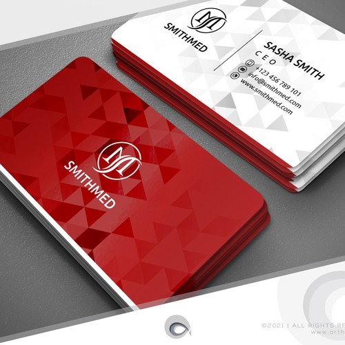 Cool Logo & Business Card for Medic CO