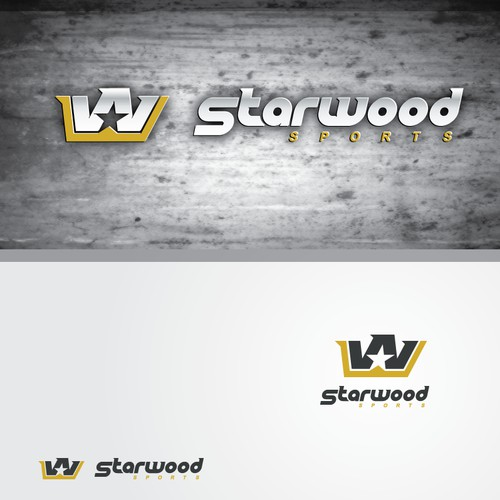 Stylish Logo for a Premium Sporting Goods Company