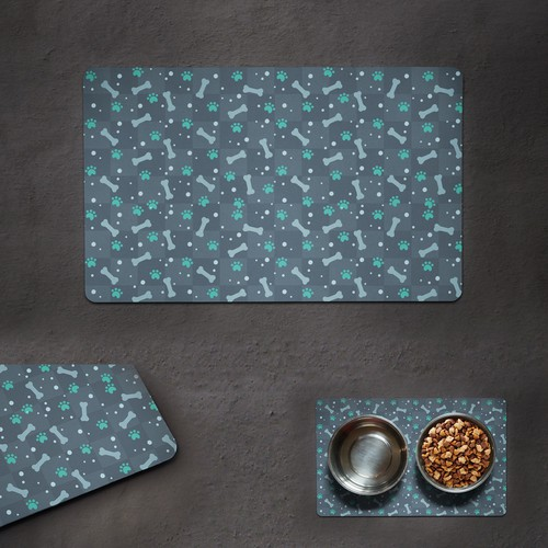 Table Cloth Design for a Pet Feeding Mat!