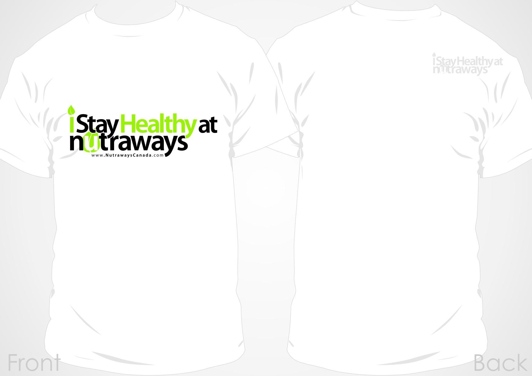 Nutraways Canada needs a new t-shirt design