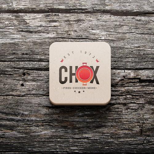CHOX logo deign