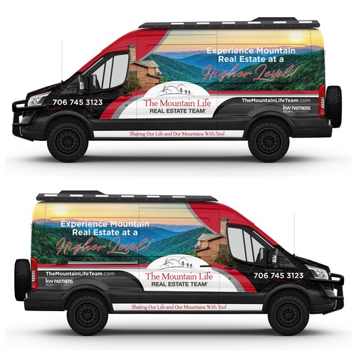 4x4 Adventure theme for a Ford Transit