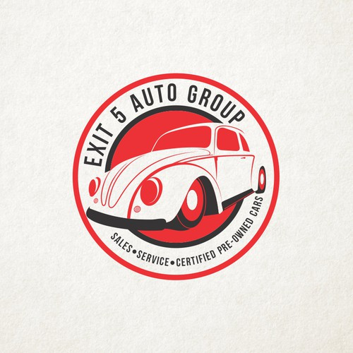 Vintage and Clasic logo for Dealership Company