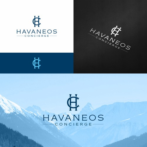 Logo for a french concierge service