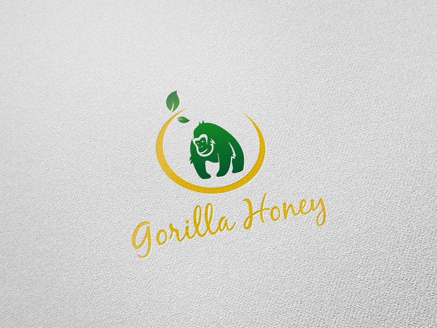 Creative logo design contest for Gorilla Honey!