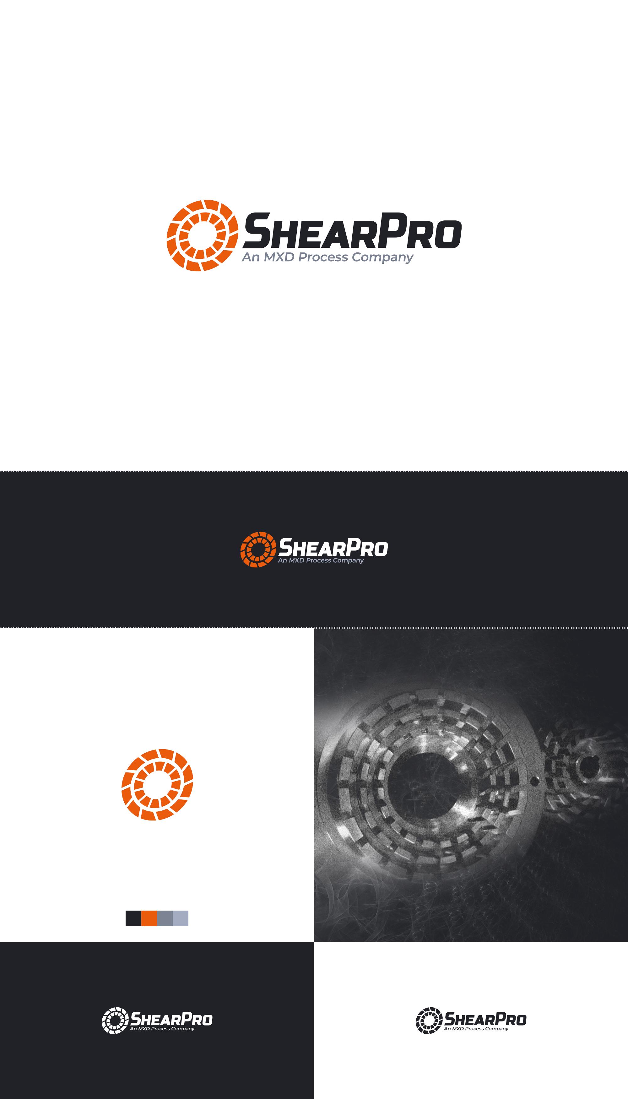 LOGO - Shearpro - Company logo and color scheme