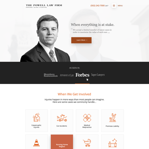 Law Firm Design Concept