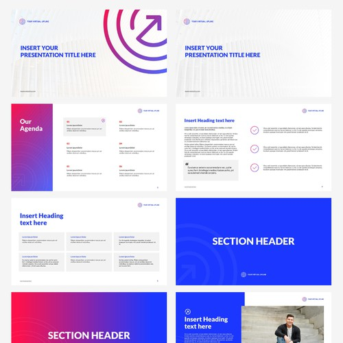 Clean Bold Vibrant Powerpoint Template