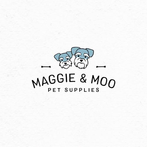 Cool little logo for a pet shop