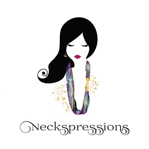 Logo for a company that sells unique necklaces and scarves