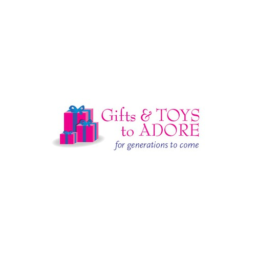 Help Gifts And Toys To Adore with a new logo