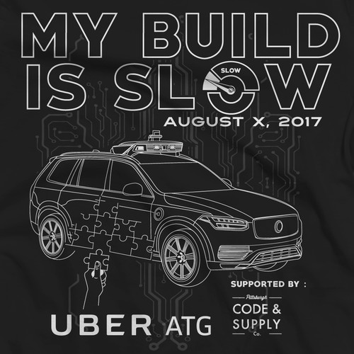 TSHIRT DESIGN FOR UBER ATG