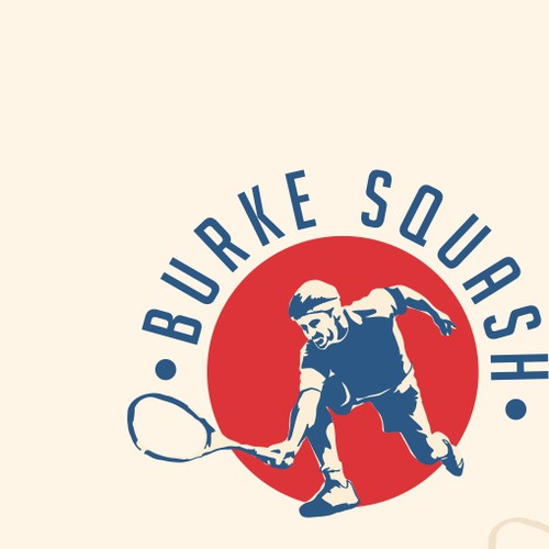 Cool & Catchy Logo for Squash Coaching business - BurkeSquash